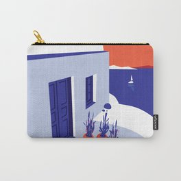 Peaceful Landscape with Ocean Breeze Carry-All Pouch