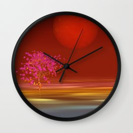 peaceful time -5- Wall Clock