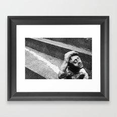 Hopeful Clay Framed Art Print