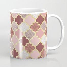 Warm rose gold moroccan Coffee Mug