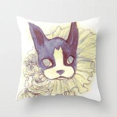 Logan Sketch Throw Pillow