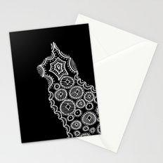 Cat Zendoodle Design Stationery Cards