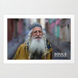 Souls of San Francisco - Yahweh Art Print