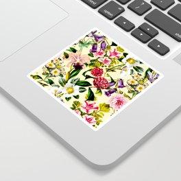 SUMMER BOTANICAL X Sticker