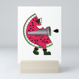 Mr. Watermelon Man Mini Art Print