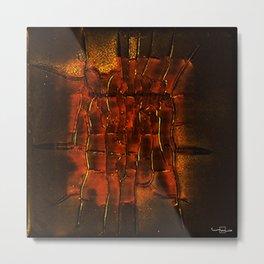 Inner Deviation Metal Print