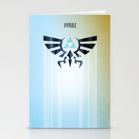 The Legend of Zelda - Hyrule Rising Poster Stationery Cards