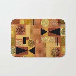 GEO-1 | yellow gold Bath Mat