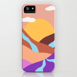 Rivers iPhone Case