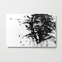 The Burden Metal Print