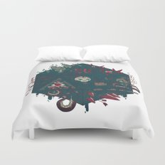 Die of Death Duvet Cover