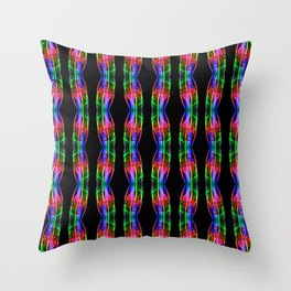 Recycled Smoke Pattern  (8) Throw Pillow
