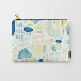 Busy -abstract Carry-All Pouch