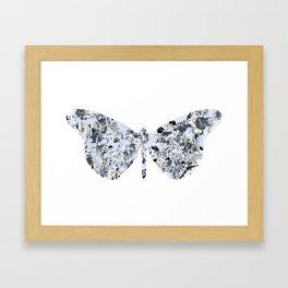 Burly Butterfly Framed Art Print