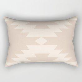 Southwestern Minimalism - Soft Pink Rectangular Pillow