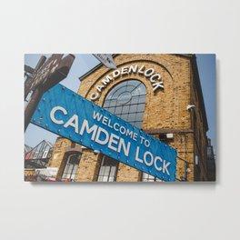Camden market Metal Print