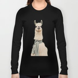 Vintage Cold Llama Long Sleeve T-shirt
