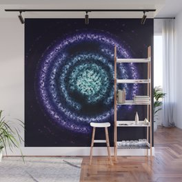 Energy Ring background Wall Mural