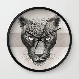 Eternal Leopard Wall Clock
