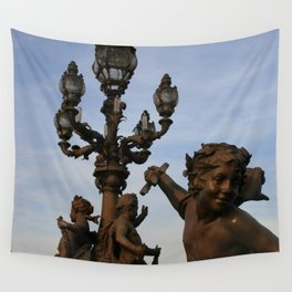 Pont Alexandre III Wall Tapestry