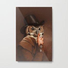 Earl Owl Metal Print