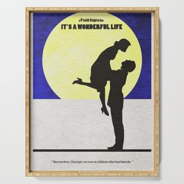 It's a Wonderful Life Serving Tray
