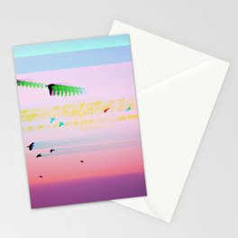 Birds Transcending Time Stationery Cards