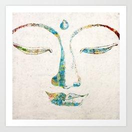 Buddha Squared Art Print