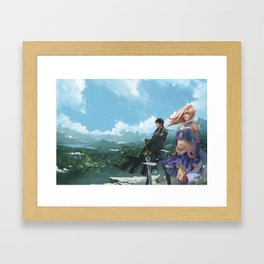 The Luckless Second Age of Retha book Series AM Sohma Framed Art Print