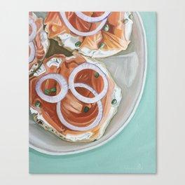 Breakfast Delight Canvas Print