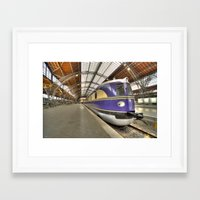 german Framed Art Prints featuring German DMU  by Rob Hawkins Photography