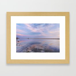 """Heaven walk"". Tarifa beach Framed Art Print"