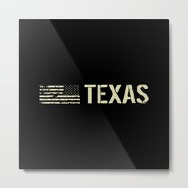 Black Flag: Texas Metal Print