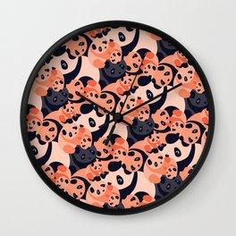 Somos Pandas Wall Clock