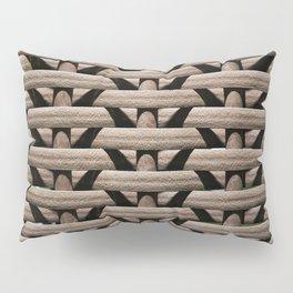 Background wicker rods Pillow Sham