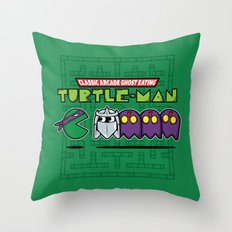 Hero in a Pac-Shell (Donnie) Throw Pillow