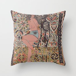 Middle Child Throw Pillow