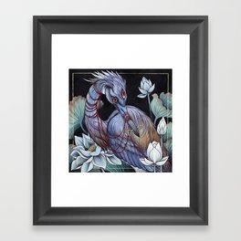 Guardian Of The Marshlands Framed Art Print