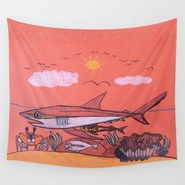 Galopagos Shark & Friends Wall Tapestry