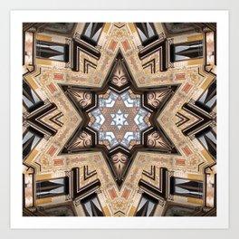 Architectural Star of David Art Print