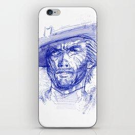 Clint iPhone Skin