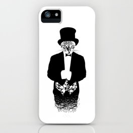 Cat in the Hat iPhone Case