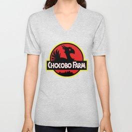 Chocobo Farm Unisex V-Neck