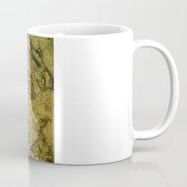 Map of Falmouth Harbour Coffee Mug