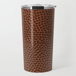Football / Basketball Leather Texture Skin Travel Mug