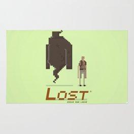 Pixel Art Lost Rug