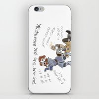 nori iPhone & iPod Skins featuring What does Nori say by BlueSparkle