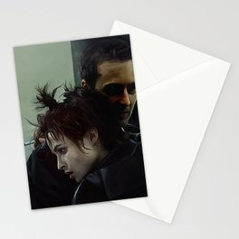 An Embrace With Marla Singer - Fight Stationery Cards