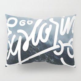 Go Exploring Pillow Sham