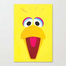 Minimal Bigbird Canvas Print